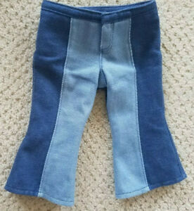 """American Girl Doll Julies Bell Bottoms Only 18"""" Dolls 2007 Retired Excellent"""