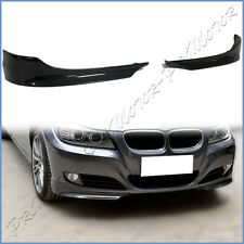 Carbon Fiber Front Add-On Spoiler Lip Set Fit 09-11 E90 E91 LCI Standard Bumper