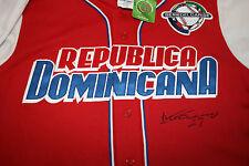 VLADIMIR GUERRERO AUTOGRAPHED AUTO SIGNED 2009 WBC DOMINICAN REPUBLIC JERSEY COA