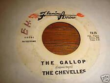 THE CHEVELLES 45 THE GALLOP GLORIA WALKER FUNK