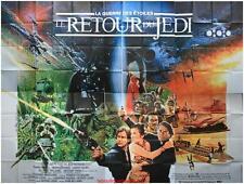 LE RETOUR DU JEDI Affiche Cinéma 4x3 Movie Poster STAR WARS Return of the Jedi
