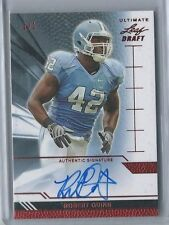 2011 Leaf Ultimate Draft AUTO RC Robert Quinn REAL #1/1 UNC LA Rams Dolphins