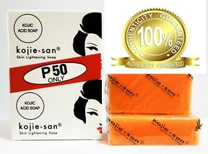 Kojie San Kojic Acid Soap Bars Skin Lightening Whitening 2 x 65 - Authentic 100%
