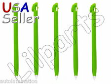 5x Apple Green TOUCH STYLUS PEN FOR NINTENDO NDS DS LITE DSL video game
