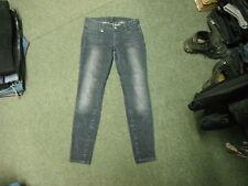 "Armani Exchange A/X Skinny Jeans Size 6 Leg 30"" Faded Dark Blue Ladies Jeans"