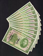 CHINA - KWANGTUNG P-S2422. 1931 5 Dollars.. CONSECUTIVE Run of 10 Notes.. UNC