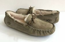 UGG DAKOTA ANTILOPE SHEARLING LINED SLIPPERS US 11 / EU 42 / UK 9 - NEW