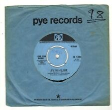 """LONG JOHN BALDRY.IT'S TOO LATE NOW / THE LONG AND LONELY NIGHT.UK ORIG 7"""".VG+"""