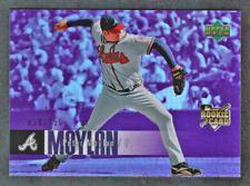 2006 UD Special F/X Purple Refractor RC #903 Peter Moylan #/150 Atlanta Braves