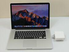 """Apple MacBook Pro 15"""" Mid-2015, Intel core i7 - 512GB SSD - 16GB RAM - MJLT2LL/A"""