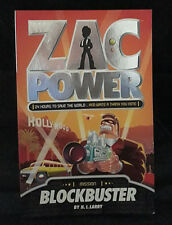 Zac Power - Blockbuster by H. I. Larry (Paperback, 2007) - Great Condition