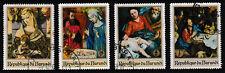 BURUNDI 'Christmas Religious Paintings' Series Stamp set of 4, issued 1967 -Used