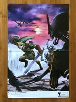 2006 Official The Legend of Zelda Twilight Princess 2-Sided Poster Gamecube Wii
