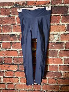 Women's Black Pearl Izumi Sugar Crop Breathable Cycling Leggings Pants Blue M