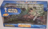 Star Wars Return of the Jedi Princess Leia on Speeder Bike 2003 NIB