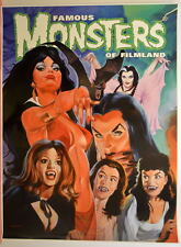 Famous Monsters of Filmland POSTER - VAMPIRES The LADY IS A VAMP Lily Vampirella