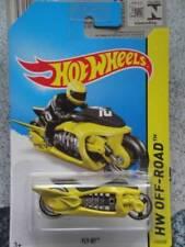 Artículos de automodelismo y aeromodelismo amarillos Hot Wheels de hierro fundido
