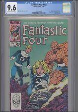 Fantastic Four #260 CGC 9.6 1983 Marvel Doctor Doom Sub- Mariner App: New Frame