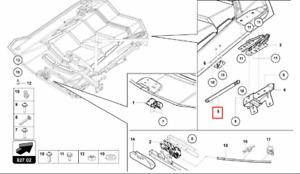 NEW Genuine Lamborghini Aventador,Murcielago Engine Cover Strut 418827401