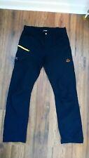Zajo soft shell pants- Medium- black hiking walking mountain trousers equipment