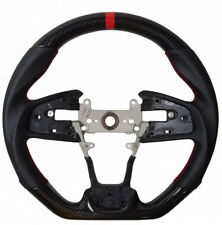 10th Gen Honda Civic 16-19 Cipher Auto Performance Leather Steering Wheel Carbon