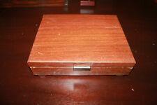 """Vintage International Silverware Flatware Chest Box 12"""" x 10"""""""