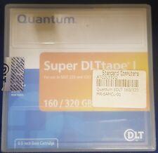 """Quantum Super DLTtape I 0.5"""" Data Cartridge - 160GB native and up to 320GB compr"""