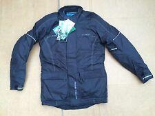 "FRANK THOMAS Mens Waterproof Textile Motorcycle Jacket UK 36"" to 38"" Chest C90"