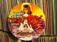 """DAVID BOWIE - Within You Rare Picture Disc 12"""" Promo Single (LABYRINTH LP) NM"""