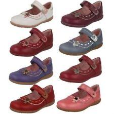 Chaussures décontractées étroits en cuir pour fille de 2 à 16 ans