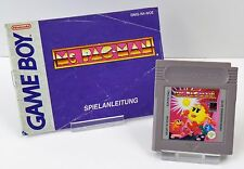 Nintendo Game Boy gb-Ms. PAC-Man + instrucciones