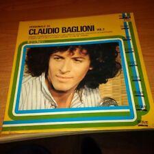 LP PERSONALE DI CLAUDIO BAGLIONI VOL. 2 RCA NL 33041 SIGILLATO ITALY PS 1977 MCZ