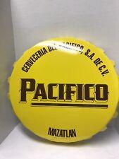 Pacifico Bottle Cap Sign Metal