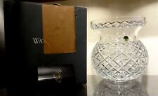"*NEW* Waterford Crystal HERITAGE Large Corset Bouquet Flower Vase 9"" NEW IN BOX"