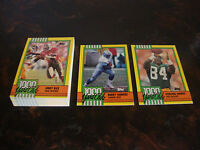 1990 Topps Football---1000 Yard Club---Complete Set 1-30---NrMt