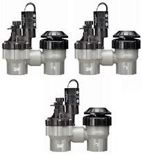 """(3) Rainbird Dasasvf075 3/4"""" Sure Flow Auto Anti-Siphon Sprinkler System Valves"""