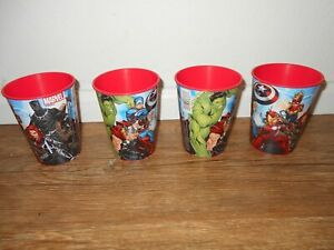 Marvel's Avengers Four Plastic Party Drinking Cups