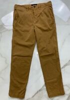 American Eagle Outfitters Mens Next Level Flex Chino Pants Brown Stretch 29 X 30