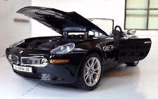 1:24 Scale BMW Z8 Z07 Roadster Black Cabrio Detailed Model 73257 1999
