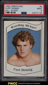 1983 Wrestling All-Stars Series A Curt Hennig #5 PSA 9 MINT