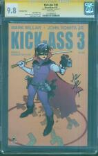 Kick Ass 3 Issue 6 CGC 9.8 SS Romita Jr. Francis Yu Top 1 Variant New Movie