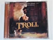Richard Band TROLL Michael Moriarty Soundtrack Limited Intrada CD (VG+)