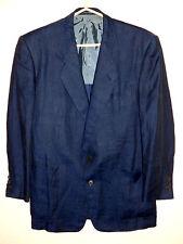 """veste YVES SAINT LAURENT """"rive gauche"""", taille 50, bleu, Laine, authentique"""