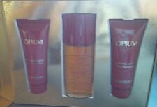 OPIUM EDT de Yves Saint Laurent 50ml + Body Lotion 75ml + Shower Gel 75ml
