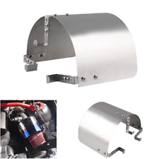 "Universal Stainless Steel Air Intake Heat Shield for 2"" to 5.5"" inlet Filter 1pc"