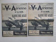 VIE AERIENNE 116 FARMAN RAID RECORD 1937 PINSARD MODELE REDUIT AVIATION MARCHAND
