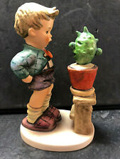 Hummel Figur Goebel 314 Hummelfigur Junge Kaktus Zwiegespräch 15 cm Porzellan