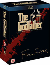 The Godfather Trilogy Collection Coppola Restoration Blu-Ray Set NEW Free Ship