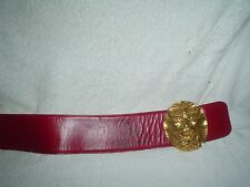"GINO VANELLI CONCERT AUTHENTIC BELT 70""s AUTOGRAPHED WITH AUTOG CONCERT TIC"