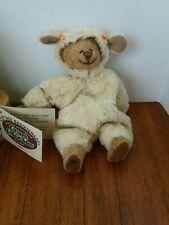 Ganz, Cottage Masquerade Bear dressed as a Lamb, Nwt